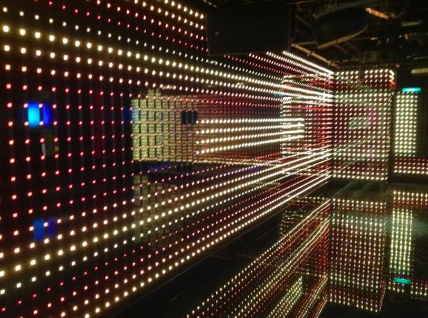 night club LED wall