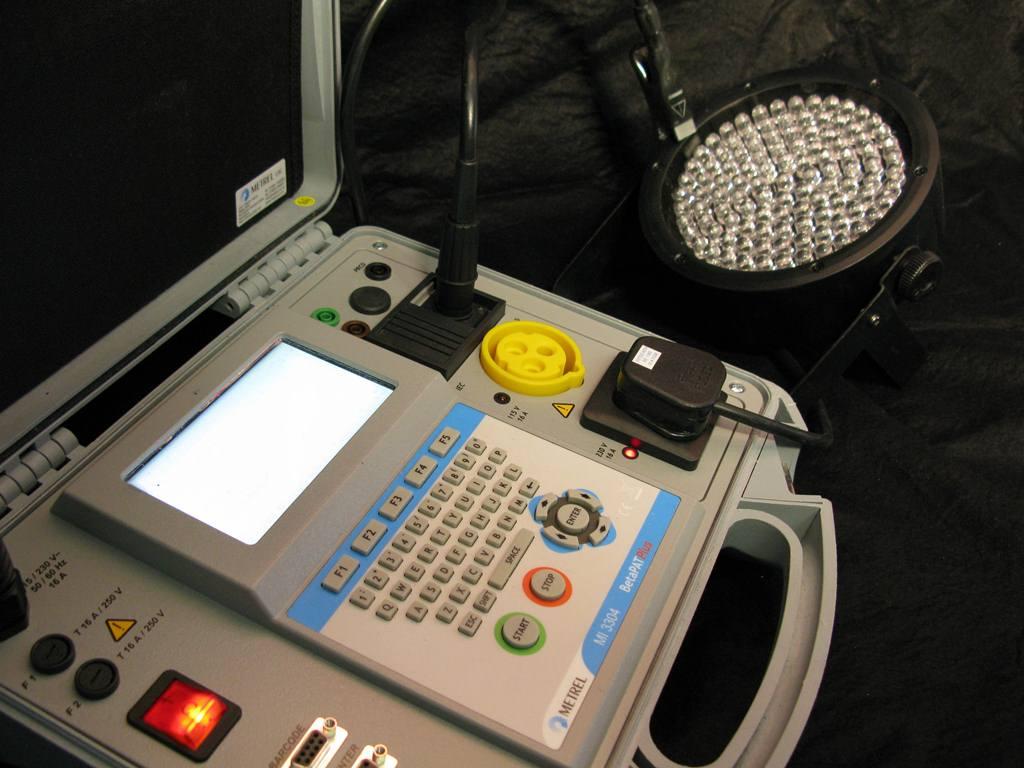 PAT testing LED