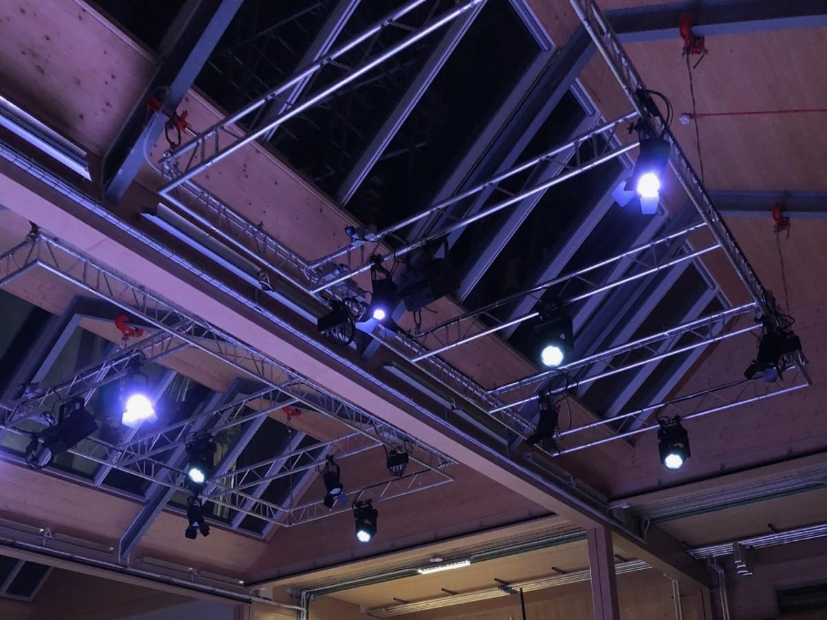 RGB stage lights