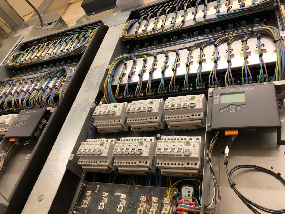 ETC Dimmer wiring
