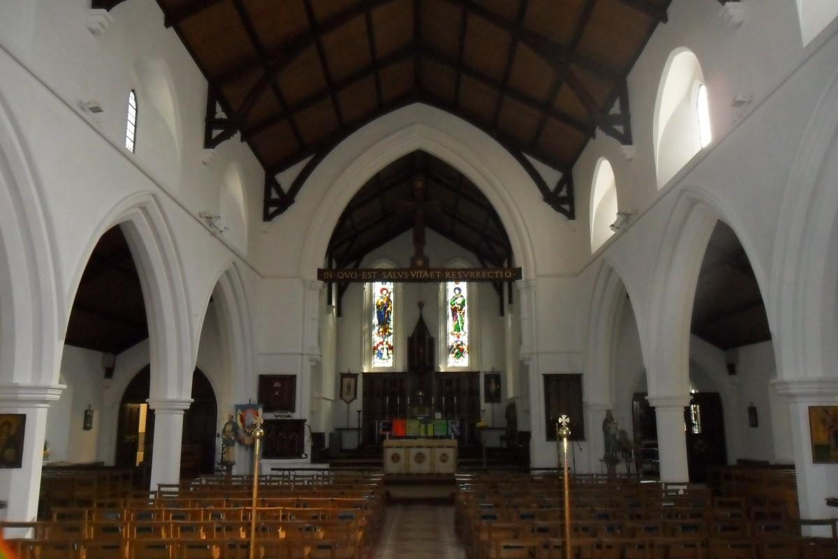 Church architectural lighting