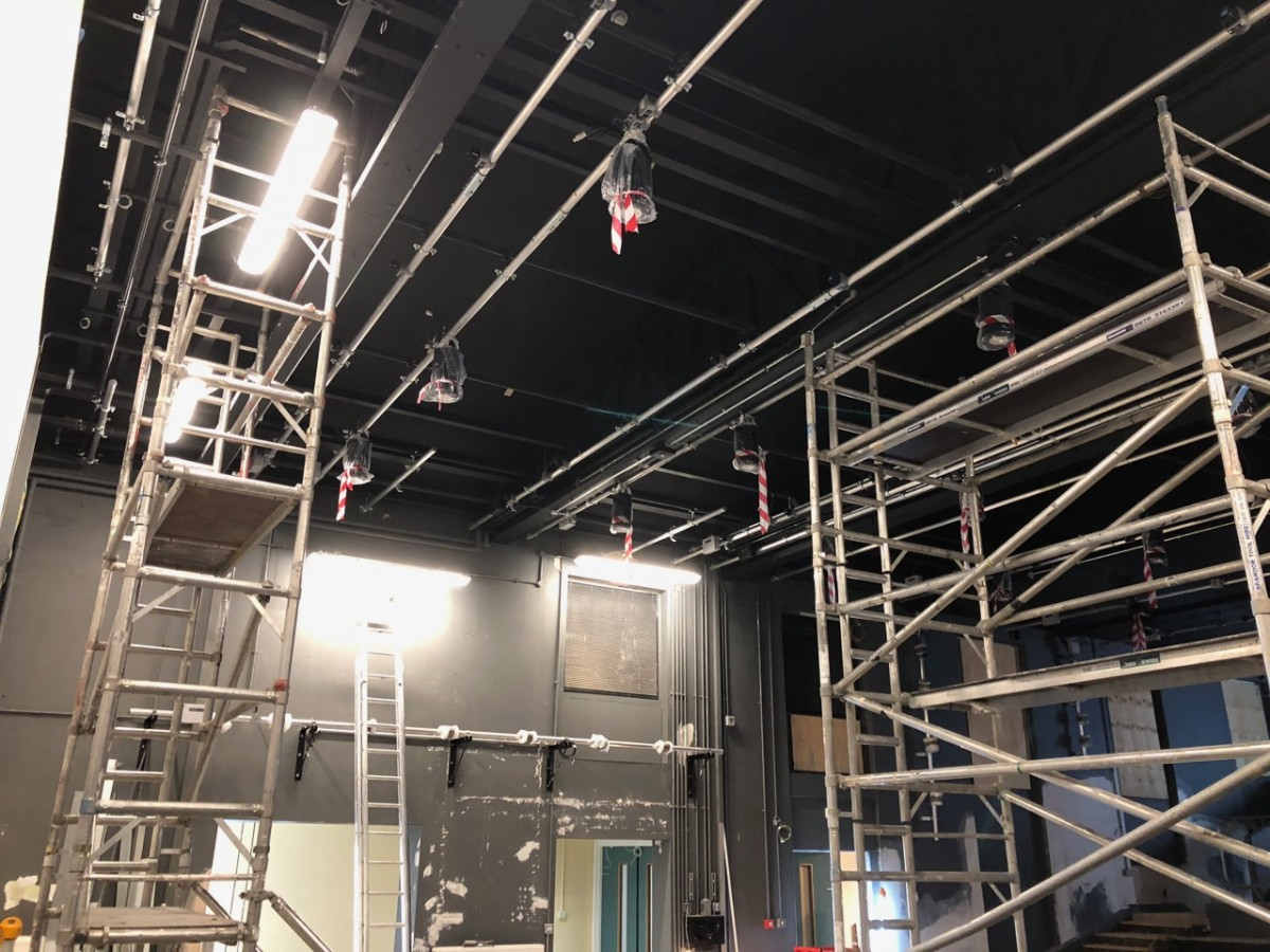 House lighting installation