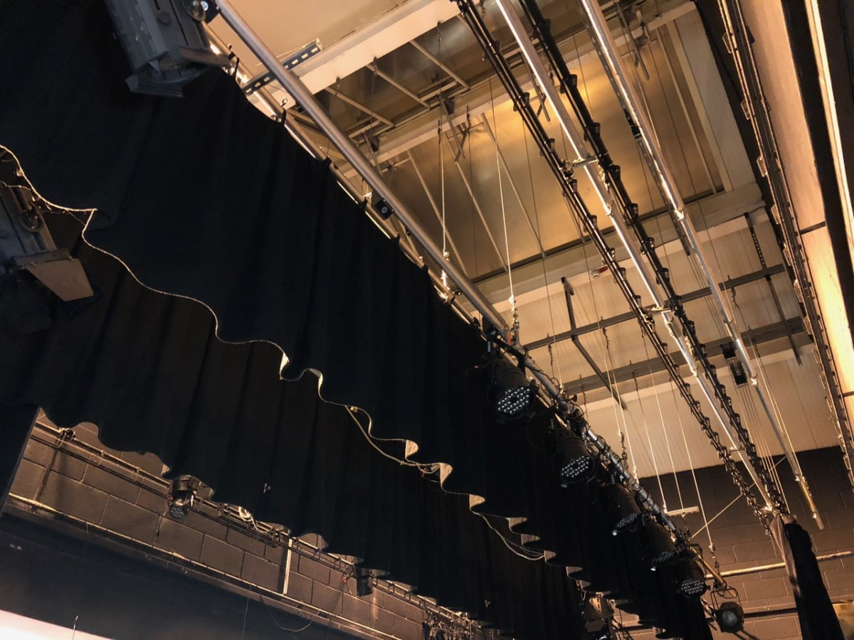 Stage rigging inspection